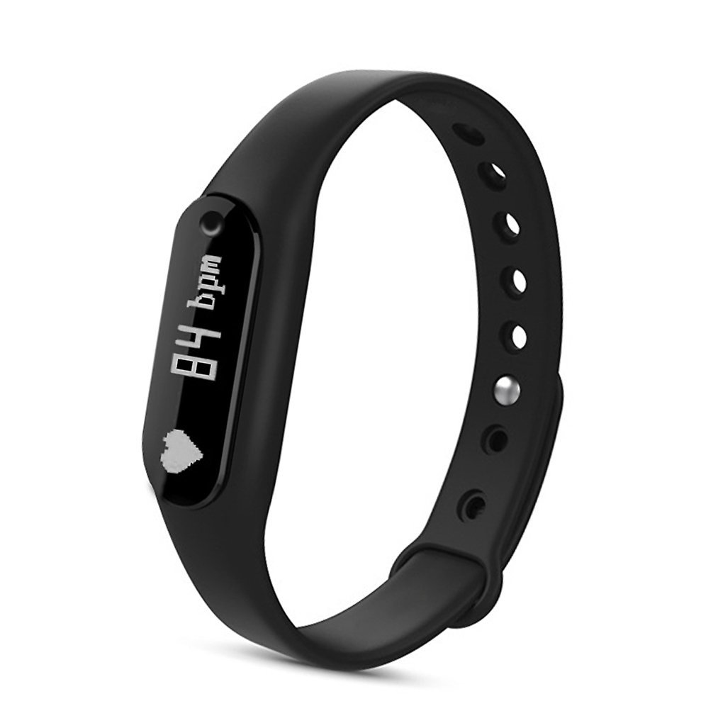ROOCKE Fitness Tracker Heart Rate Monitor