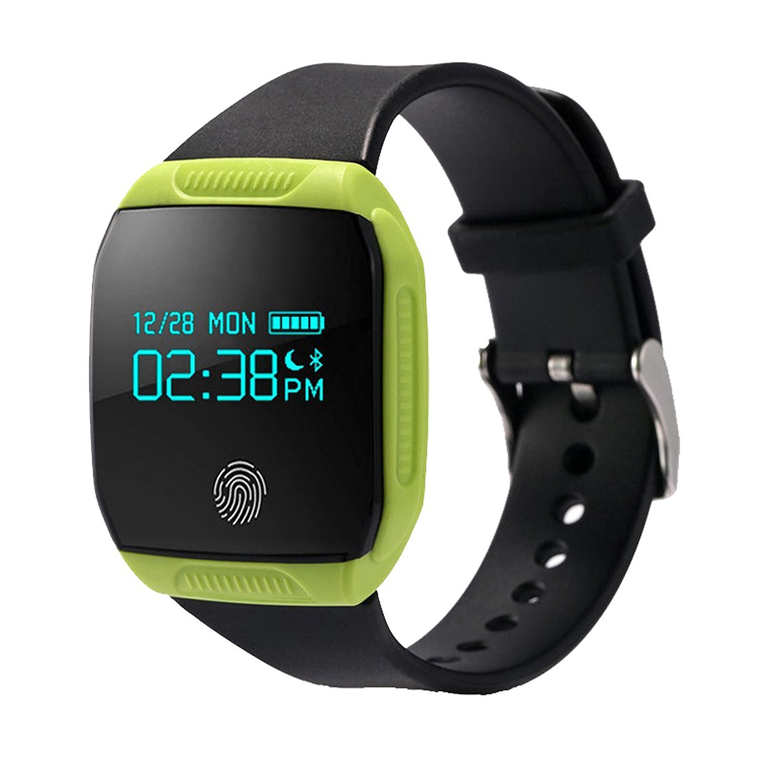 personal you watch activity waterproof fitness monitor rate pedometer watches blood heart pin touch screen kingkok tracker pressure