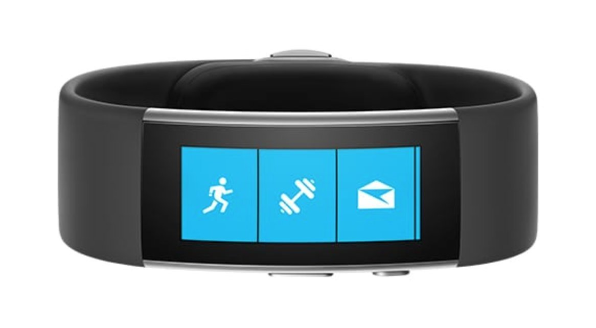 Microsoft Band 2 Medium in Size